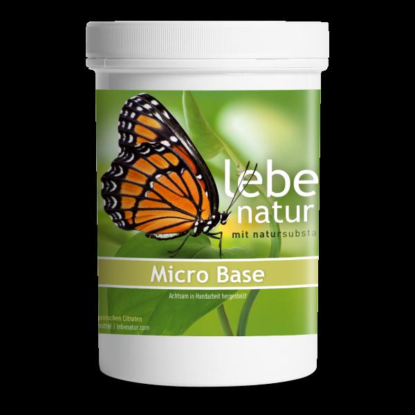 lebe natur® Micro-Base Basenpulver 360 g