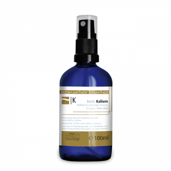 Ionic kolloid. Kalium 100ml (K) Flasche