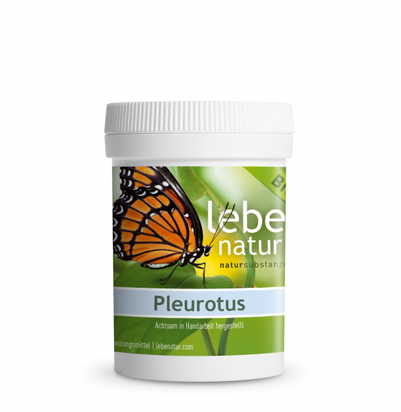 lebe natur® Pleurotus Pilz BIO 90 Dose
