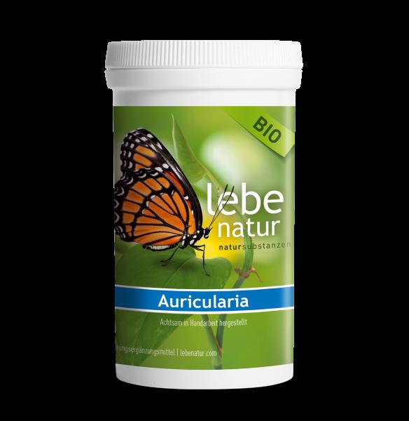 lebe natur® Auricularia auricula 180, Pilz BIO Dose