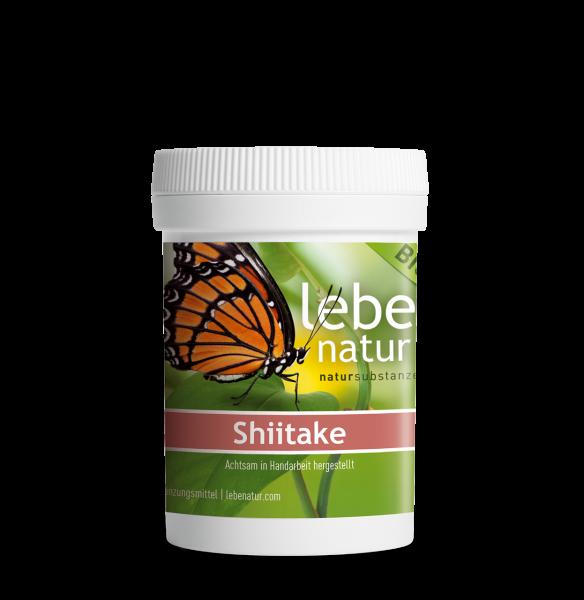 lebe natur® Shiitake Pilz BIO 90 Dose