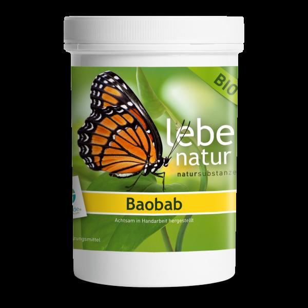 lebe natur® Baobab BIO Dose