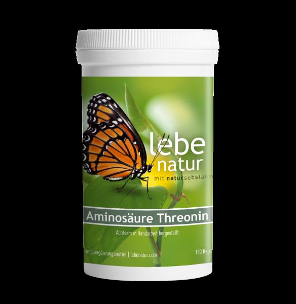 lebe natur® Aminosäure Threonin 180er