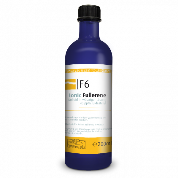 Ionic kolloid. Fullerene 200ml (C60) Flasche