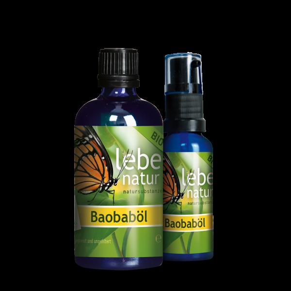 lebe natur® Baobaböl BIO Package 100 ml + 30 ml