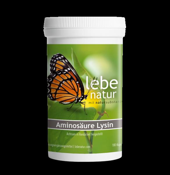 lebe natur® Aminosäure Lysin Dose