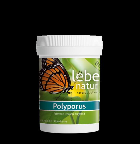 lebe natur® Polyporus Pilz BIO 90 Dose